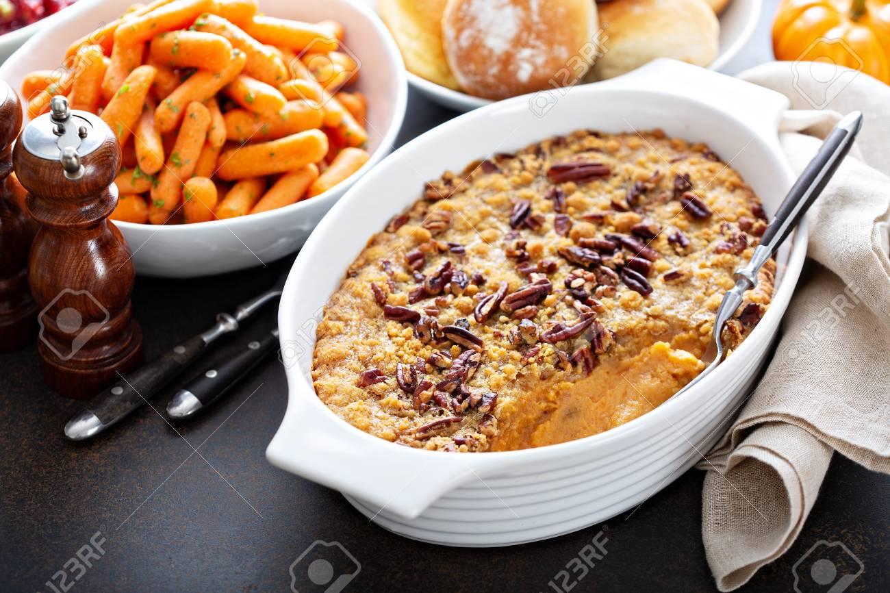 Sweet potato casserole - 110714933