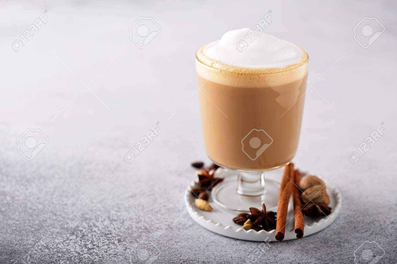 Spiced chai latte - 110713290