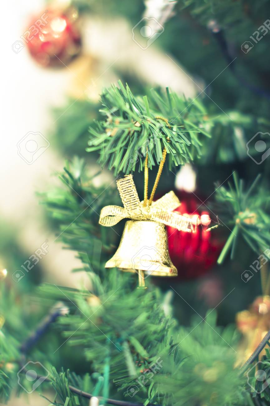 some beautiful Christmas tree decorations Stock Photo - 16834136