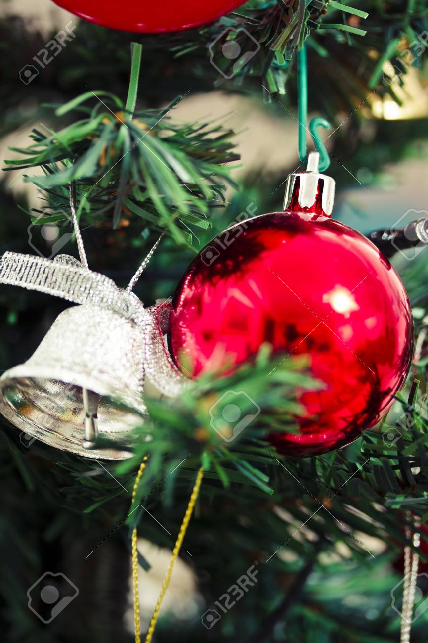 some beautiful Christmas tree decorations Stock Photo - 16834171