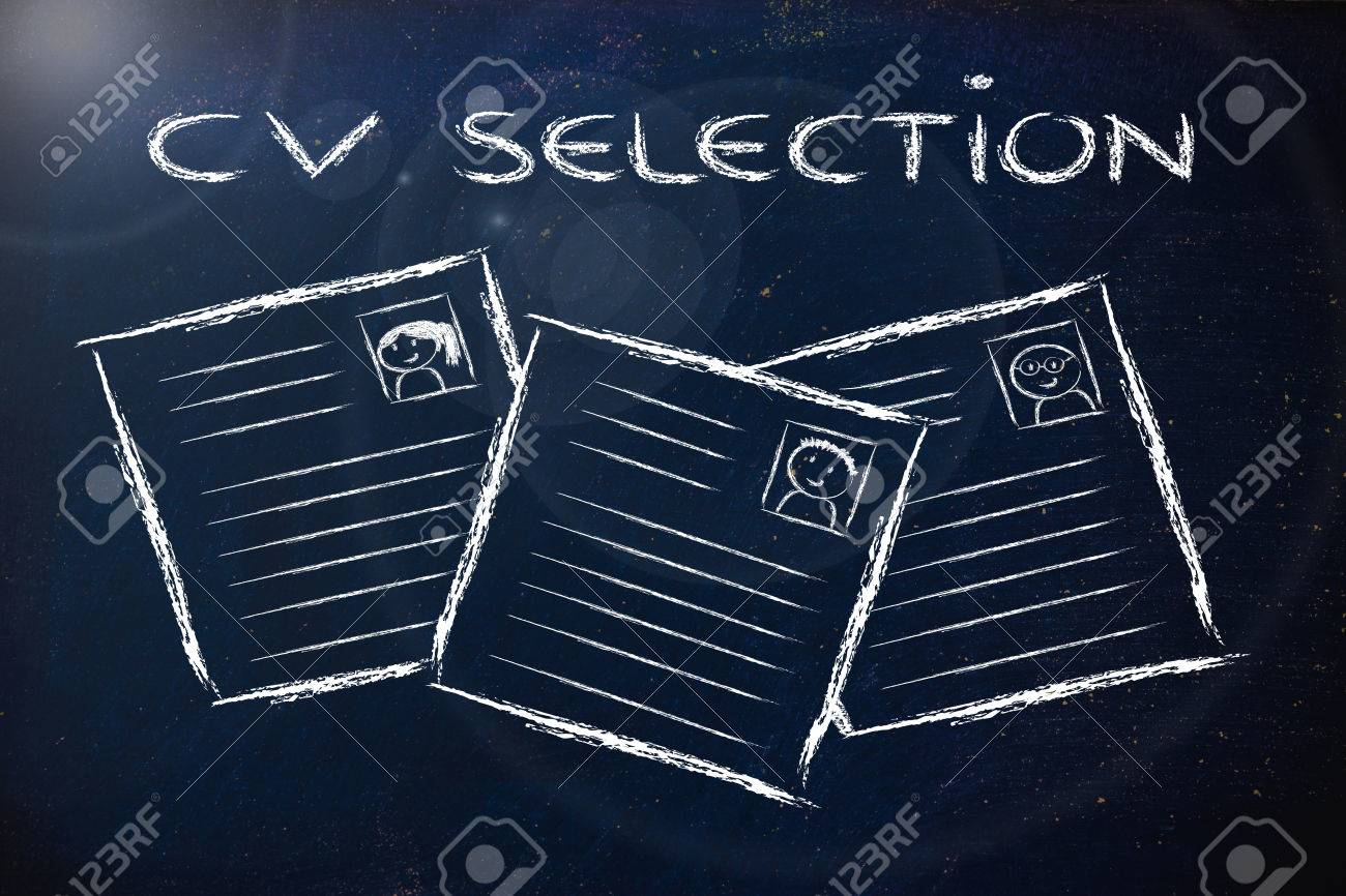 Cv Selection And The Recruitmet Process Resumes Of Different