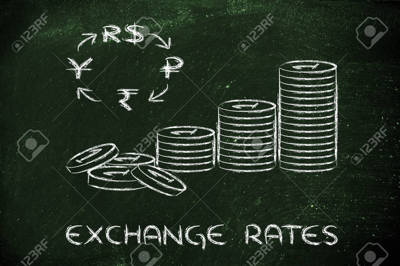 Concept of exchange rates coins and brics currency symbols stock concept of exchange rates coins and brics currency symbols stock photo 26441183 biocorpaavc