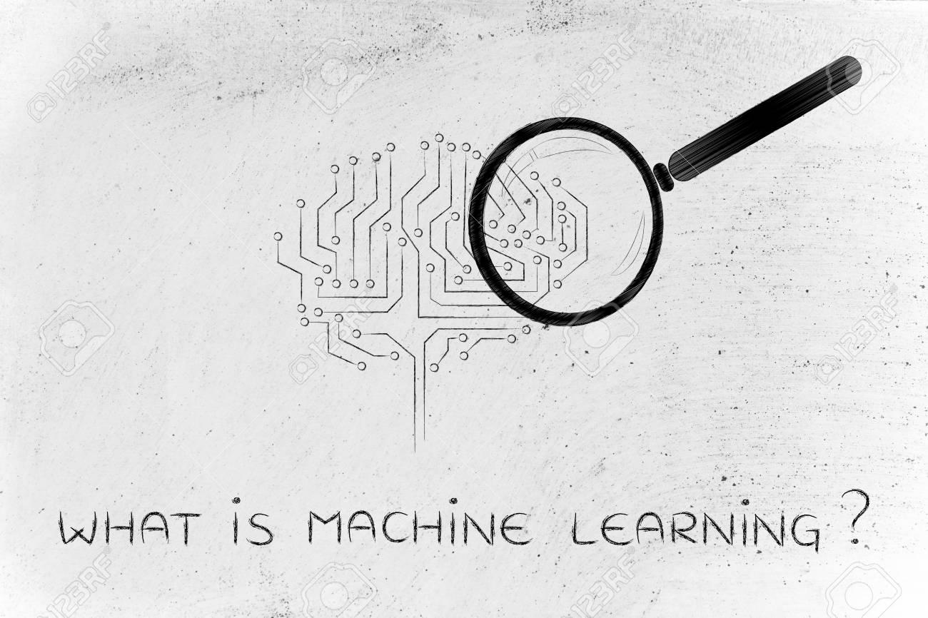 Circuito Que Es : Lo que es el aprendizaje de máquina lupa analizar un cerebro
