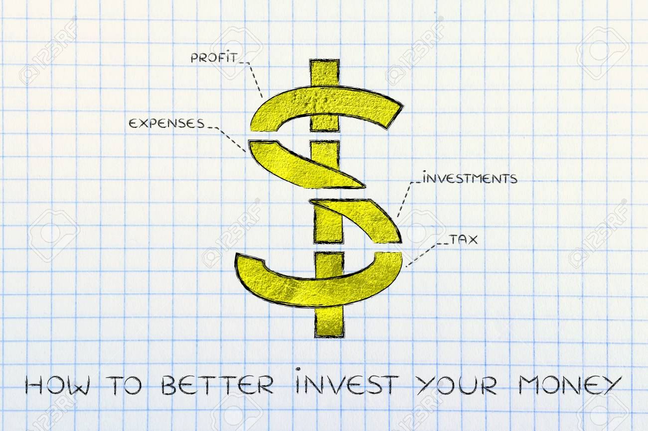 How To Better Invest Your Money Us Dollar Currency Symbol Split