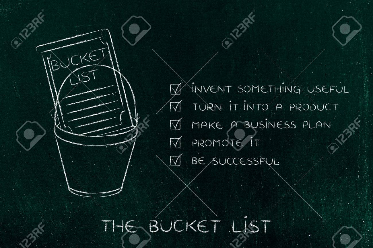 Great Bucket List Of Entrepreneurial Success Dreams: Invent Something Useful To  Turn Into A Profitable Product