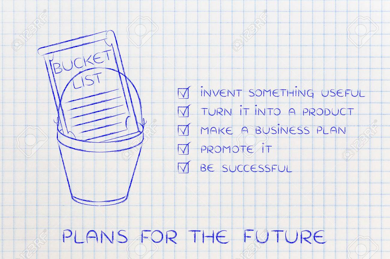 Awesome Bucket List Of Entrepreneurial Success Dreams: Invent Something Useful To  Turn Into A Profitable Product