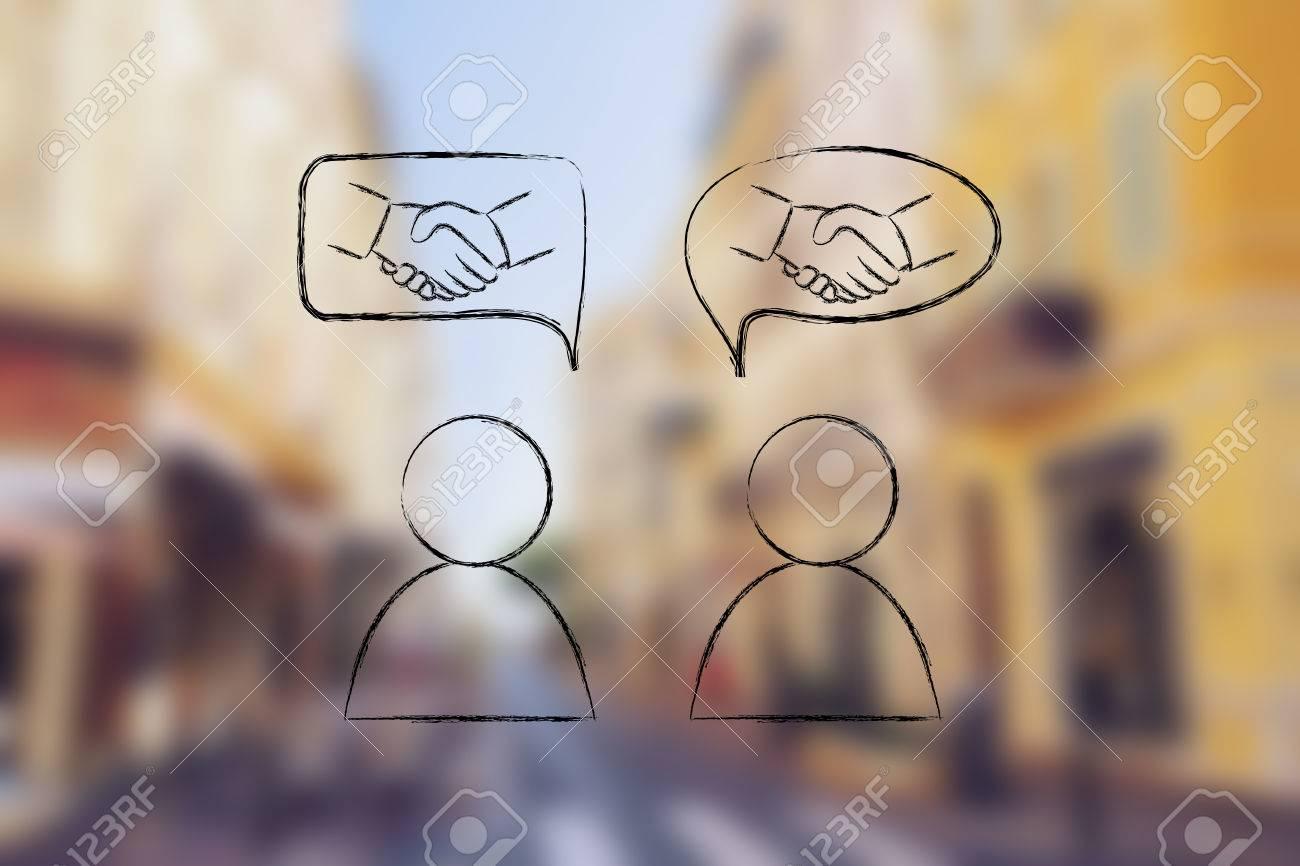 Conocer nuevas personas de
