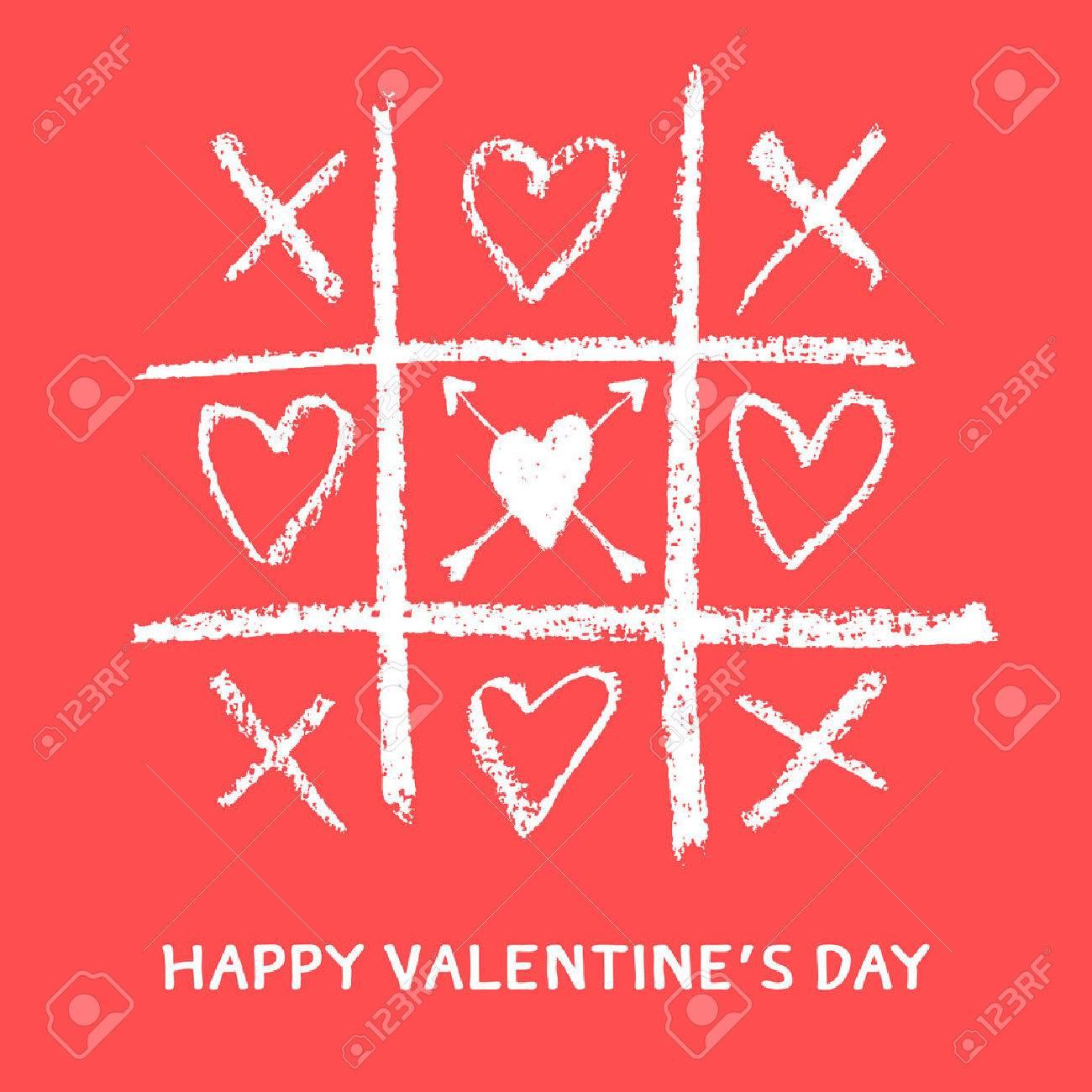 happy valentines day greeting card,xoxo,hug and kiss - 50906843