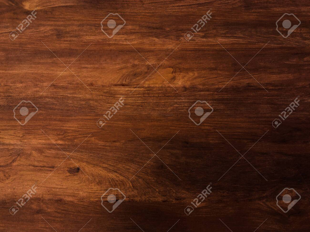 Brown wooden plank texture background for design with copy space - 144989767