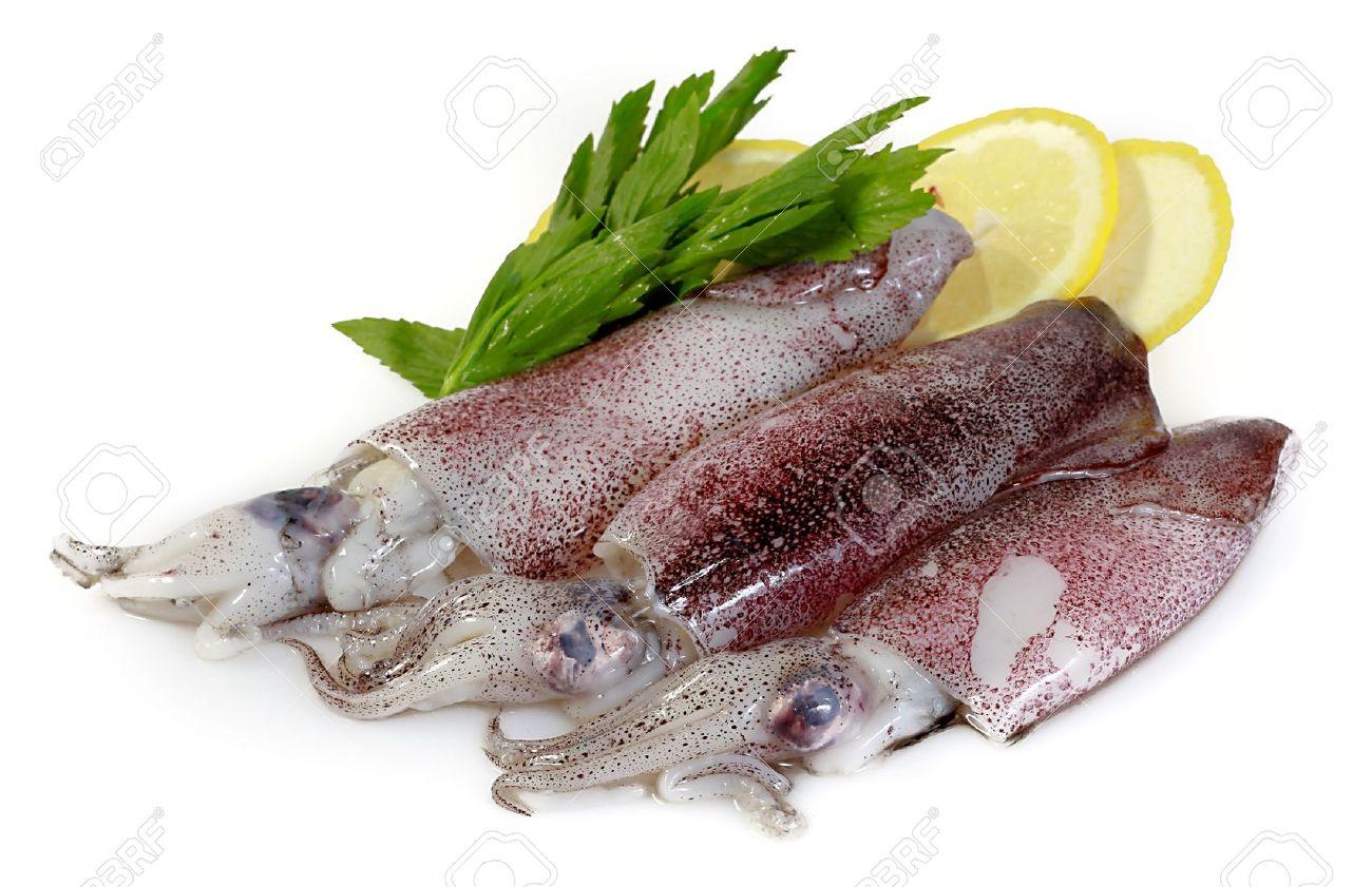 Fresh Calamari with Lemon - 10233740