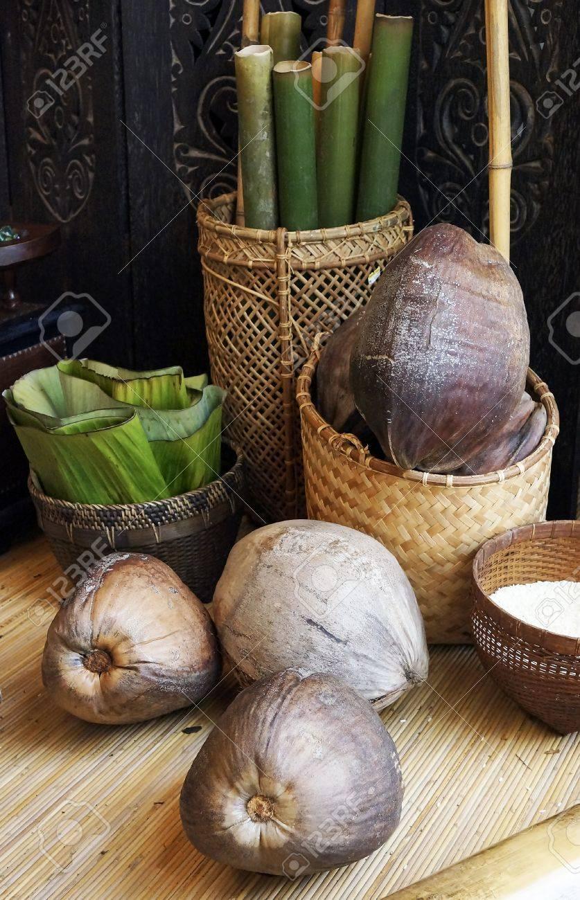Ingredient to make Traditional Food called Lemang - 15013605