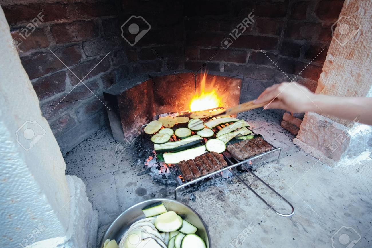 Immagini Stock Barbecue Fatto In Casa Image 68603240