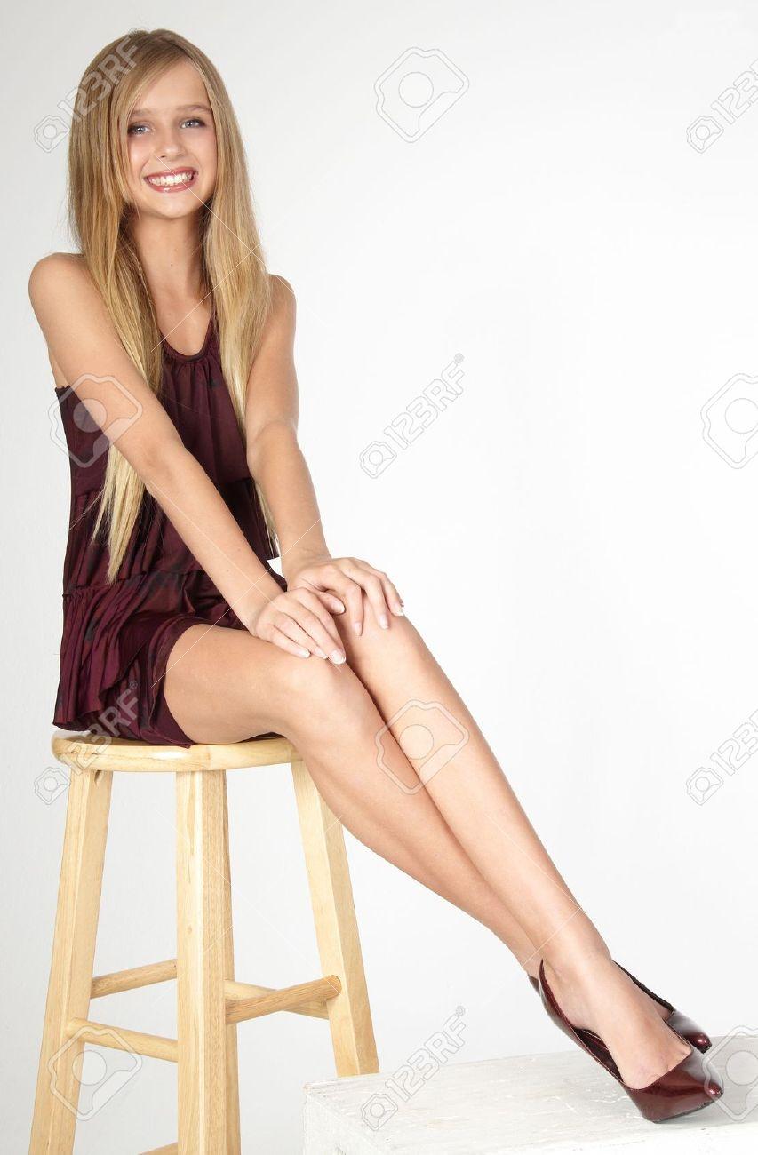 Teen long leg