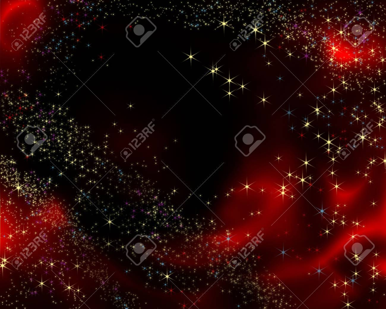 christmas background made from brushes Stock Photo - 2074388