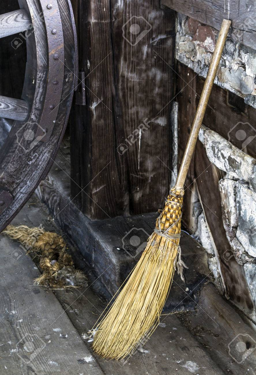 old fashioned broom stock photos u0026 pictures royalty free old