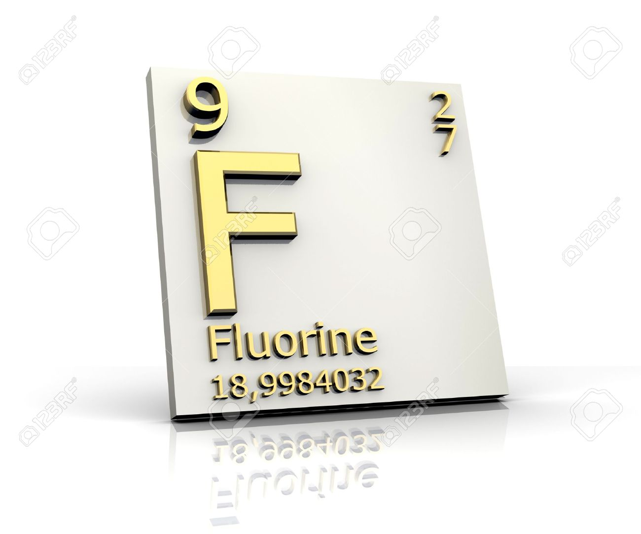 Fluorine form periodic table of elements stock photo picture and fluorine form periodic table of elements stock photo 4296426 urtaz Images