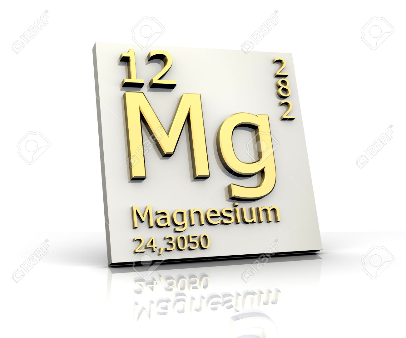 Magnesium form periodic table of elements stock photo picture and magnesium form periodic table of elements stock photo 4315591 urtaz Images