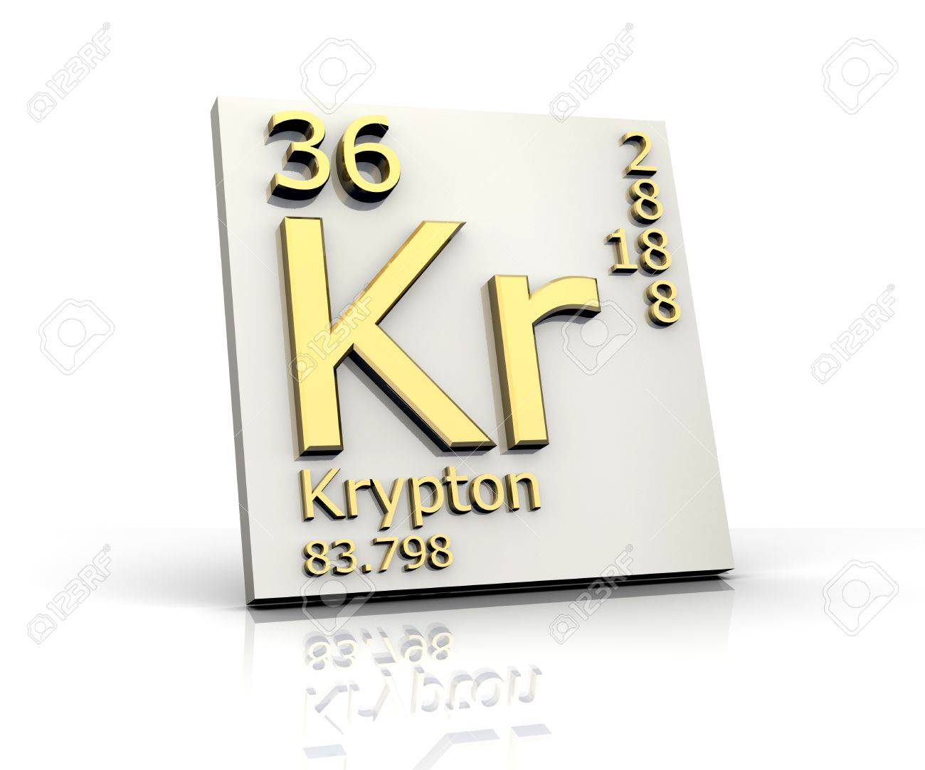 Krypton form periodic table of elements stock photo picture and krypton form periodic table of elements stock photo 4315574 urtaz Choice Image