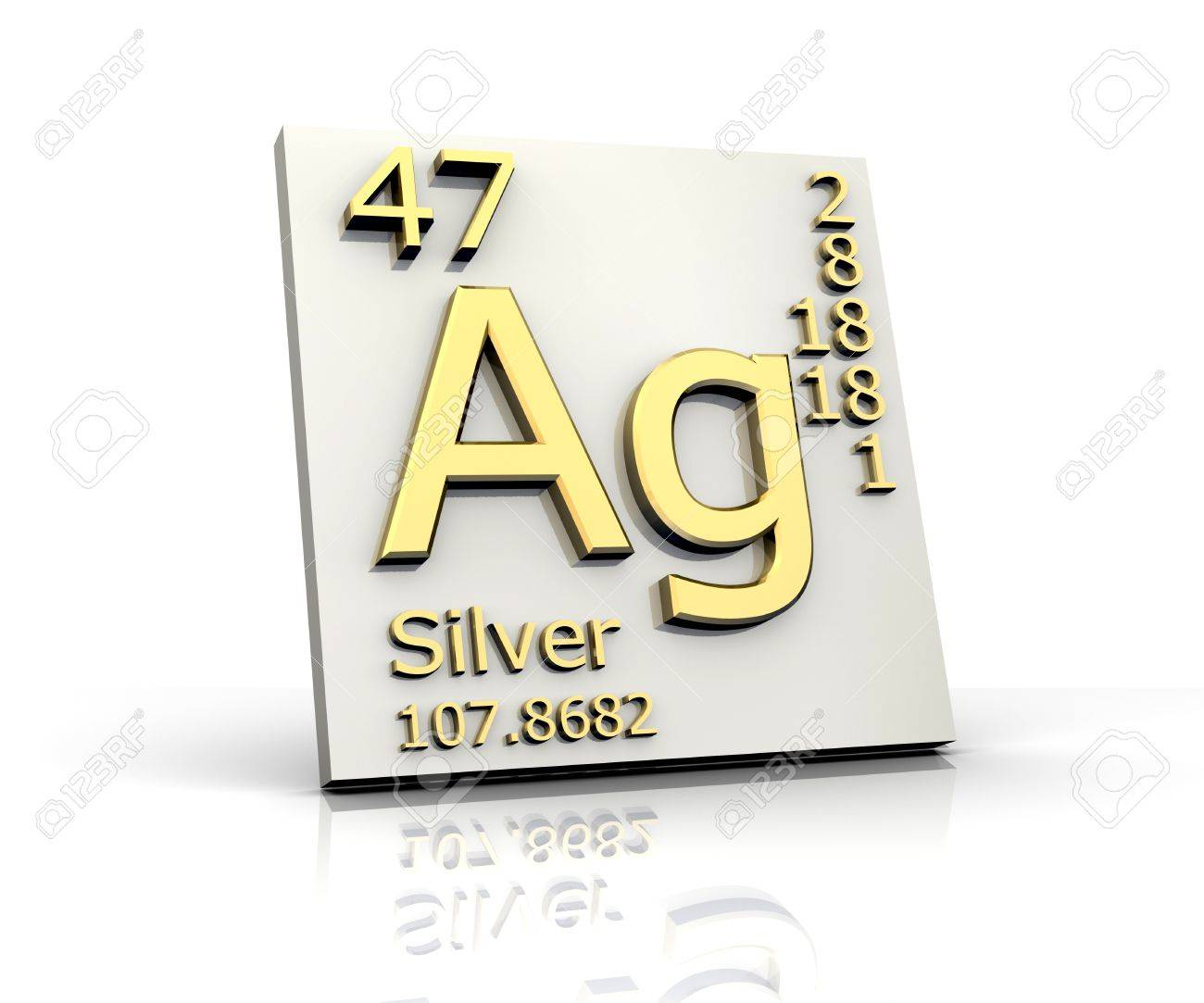 Silver form periodic table of elements stock photo picture and silver form periodic table of elements stock photo 4315580 urtaz Images