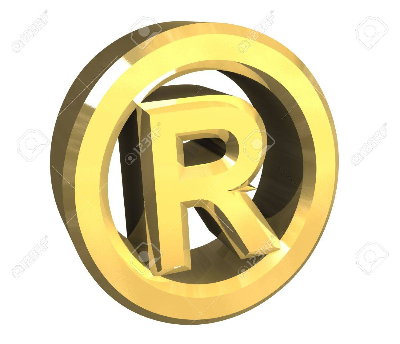 Registered symbol in gold 3d stock photo picture and royalty free registered symbol in gold 3d stock photo 5569708 buycottarizona Gallery
