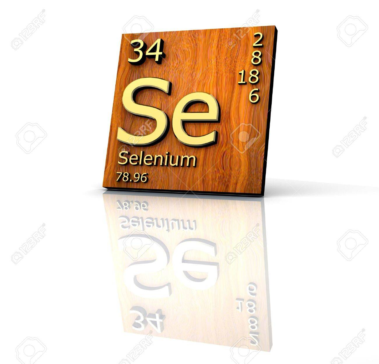 Selenium form periodic table of elements wood board 3d made selenium form periodic table of elements wood board 3d made stock photo 7119588 gamestrikefo Images