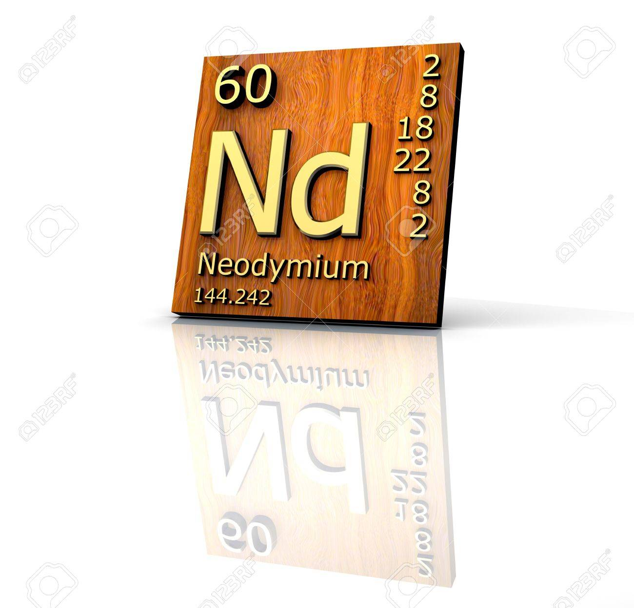 Neodymium form periodic table of elements wood board 3d made neodymium form periodic table of elements wood board 3d made stock photo 7247255 gamestrikefo Choice Image