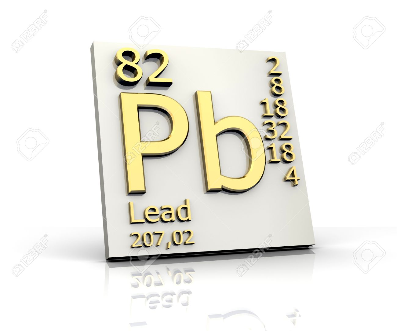 Lead form periodic table of elements 3d made stock photo picture lead form periodic table of elements 3d made stock photo 10170798 urtaz Choice Image