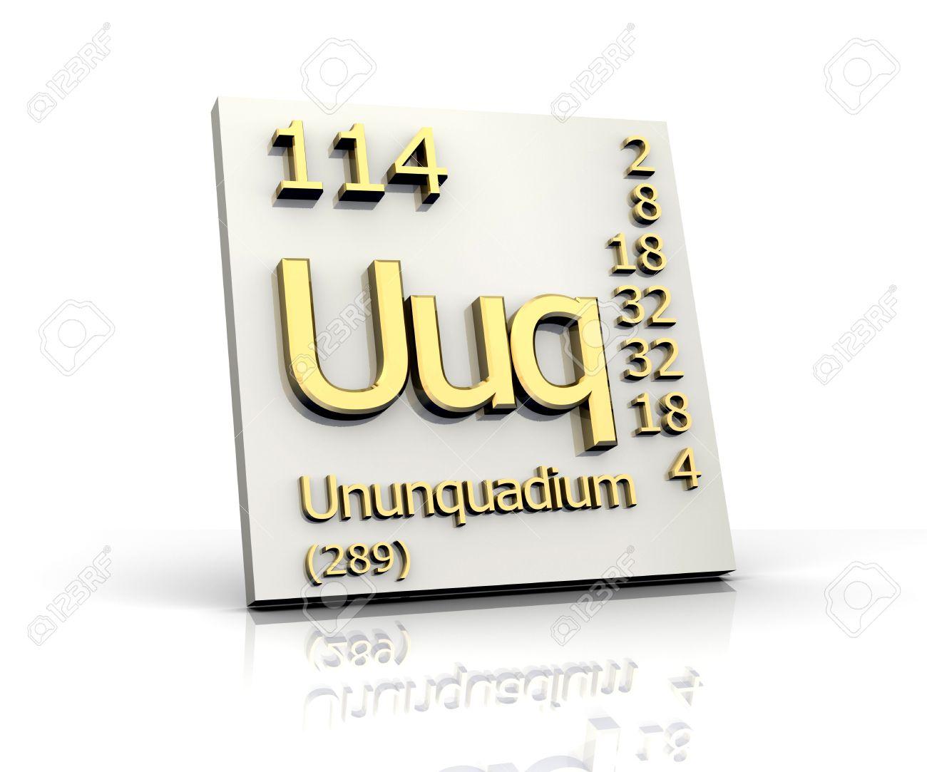 Ununquadium periodic table of elements 3d made stock photo ununquadium periodic table of elements 3d made stock photo 10266204 urtaz Choice Image