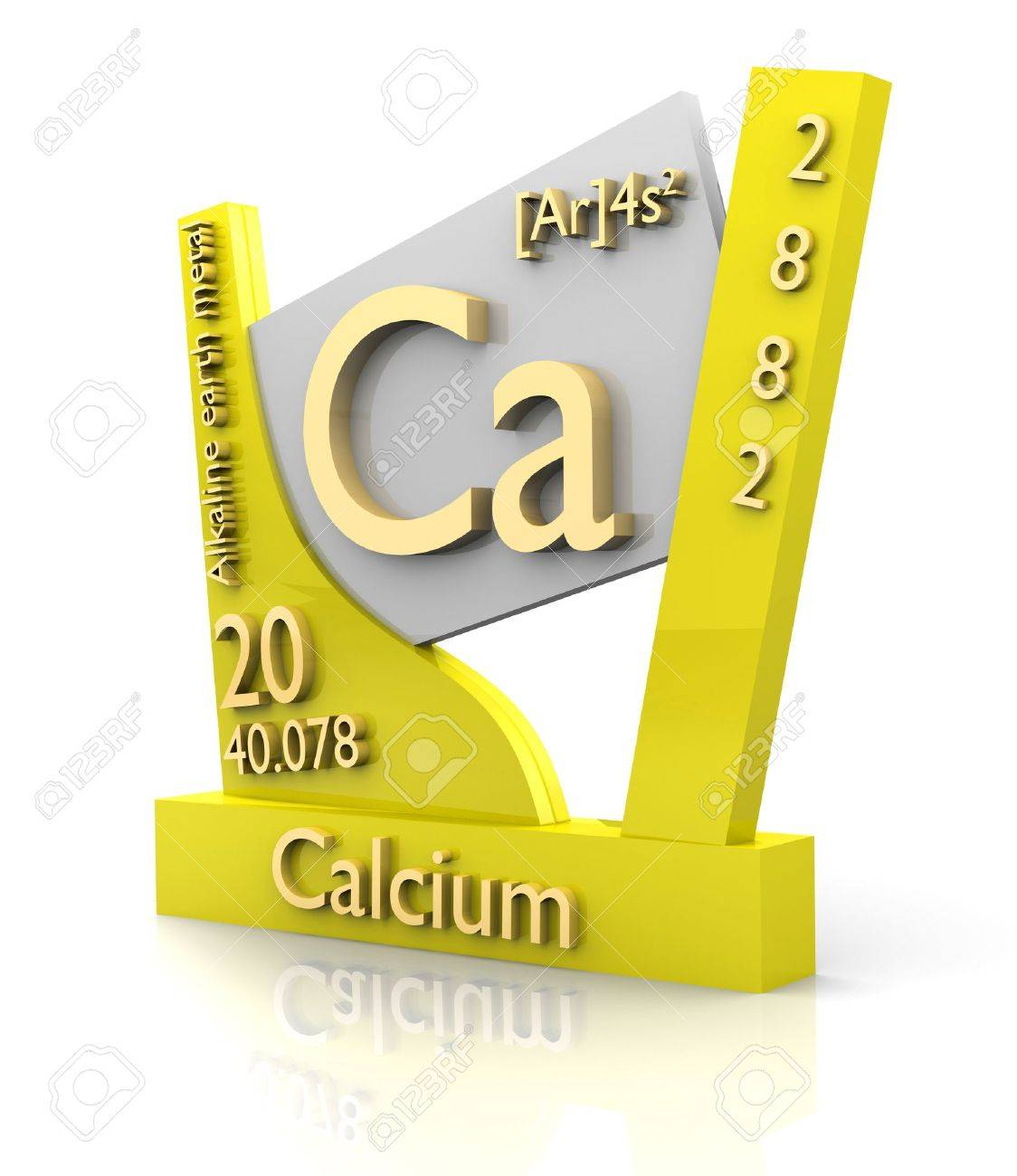 Calcium form periodic table of elements 3d made stock photo calcium form periodic table of elements 3d made stock photo 11297457 gamestrikefo Images