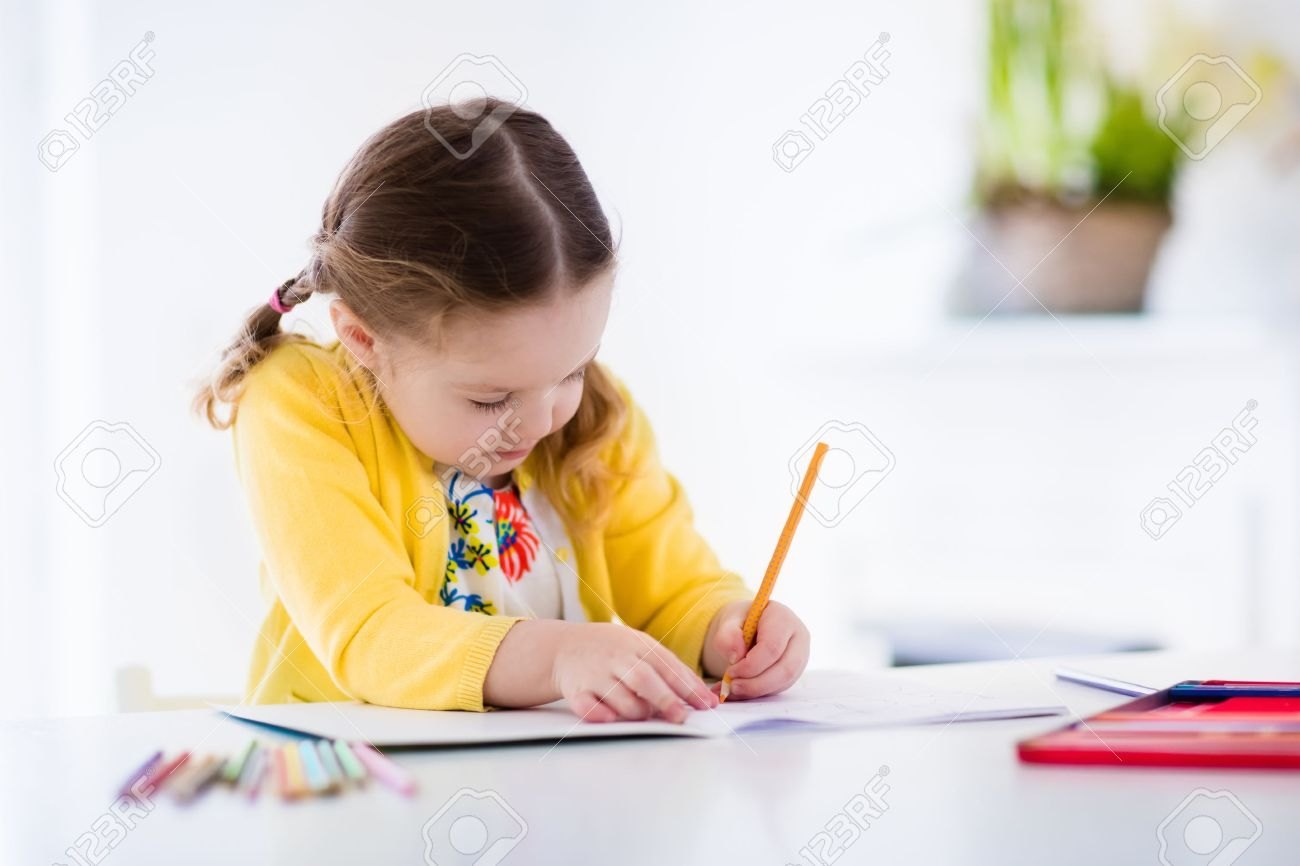 Pictures of kids doing homework