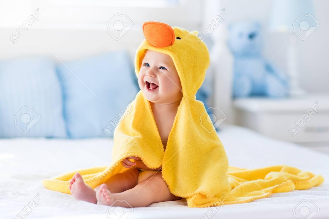Little Duck Hooded Baby Towel