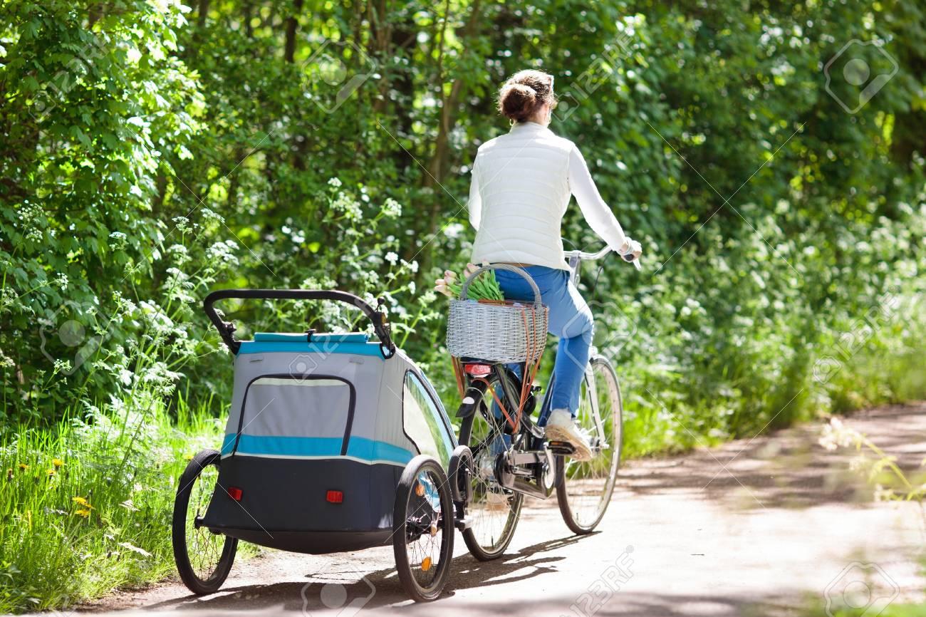 infant bike trailer