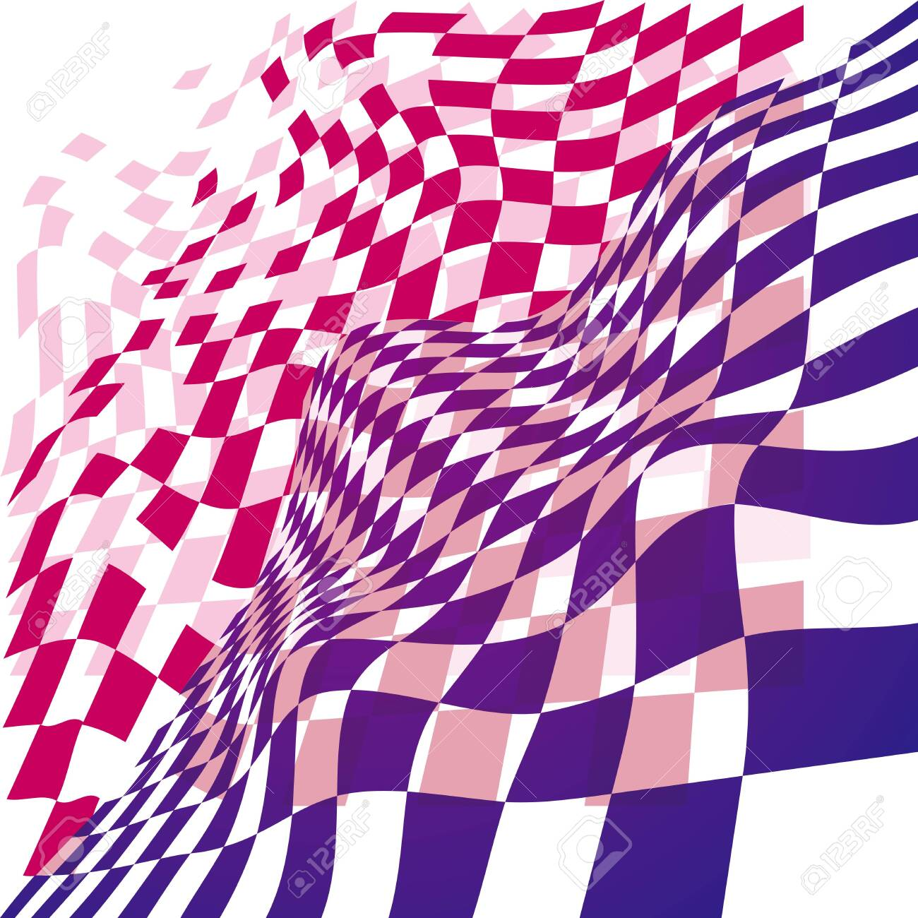 Abstract background texture. A twisted surface. - 131432203