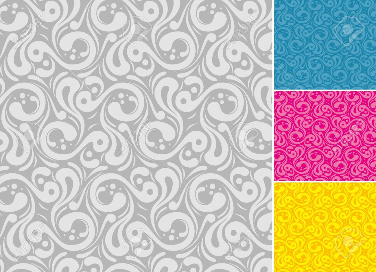 Abstract background texture. A combination of four different colors. - 131432204