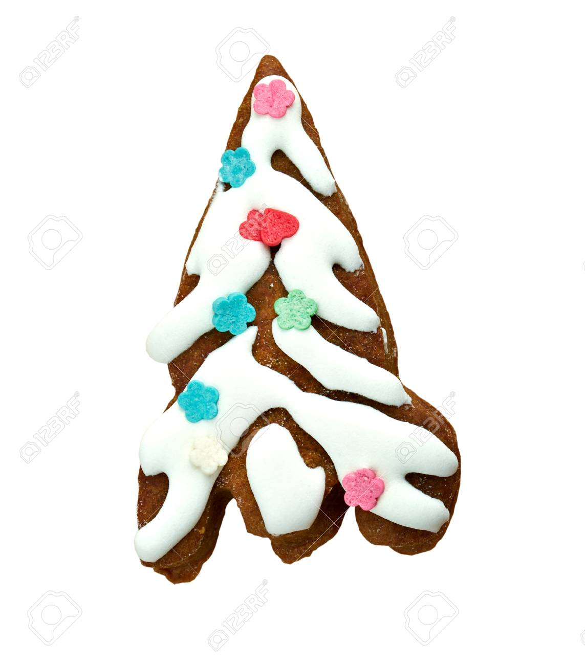 kozuli russian christmas gingerbread over wooden background