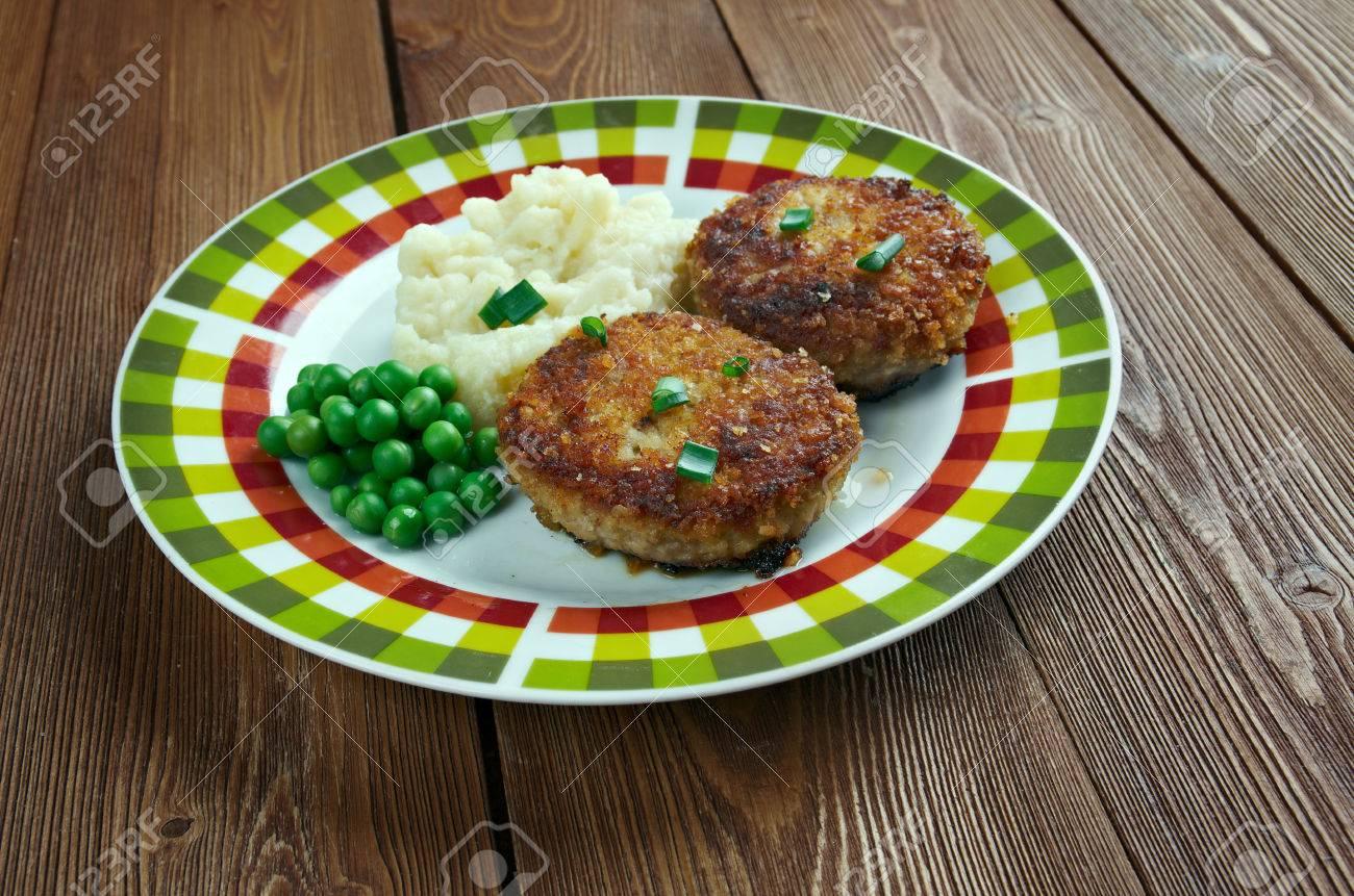 cotelettes de poulet pojarski