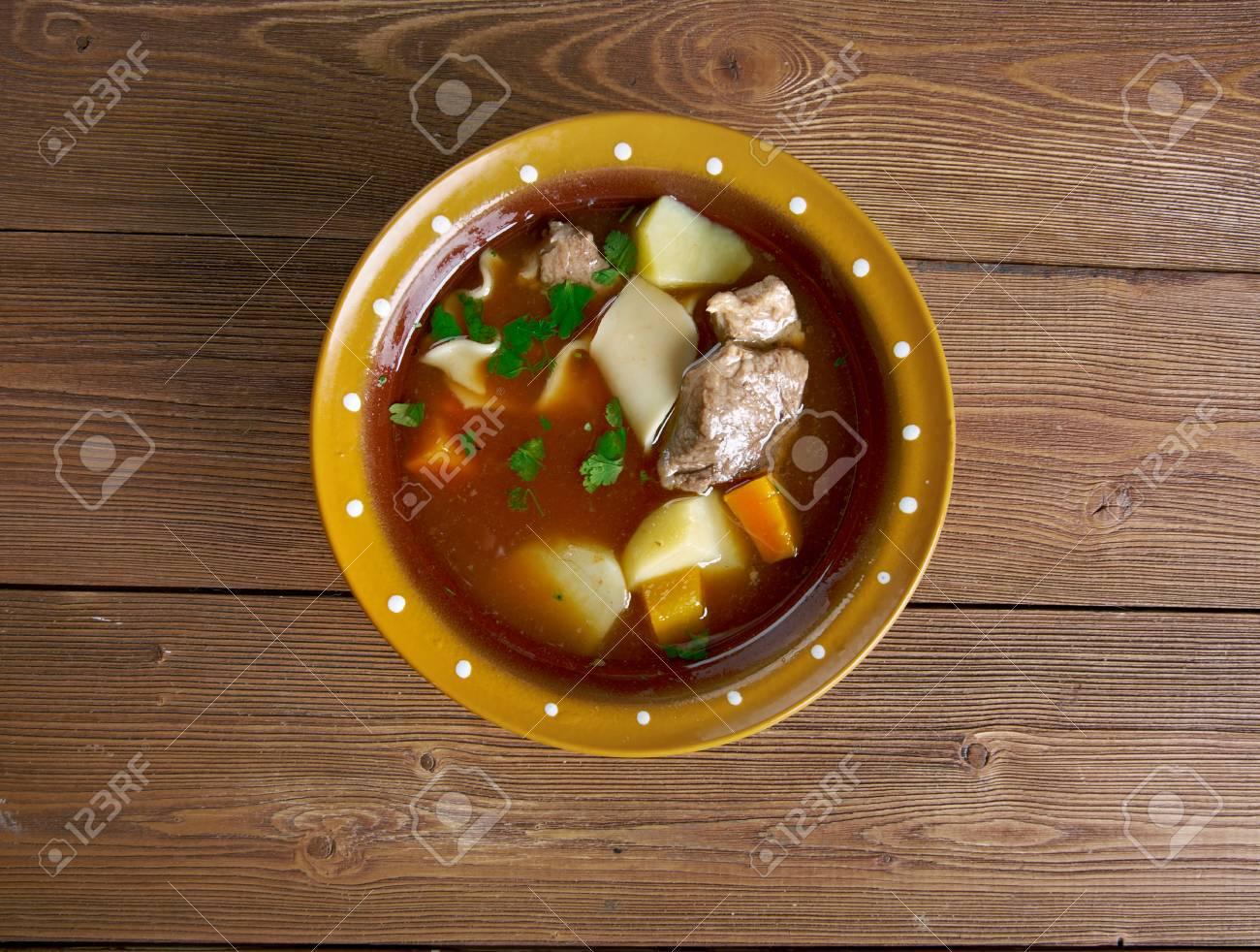 Manchiza - Usbekischen Suppe Küche Lizenzfreie Fotos, Bilder Und ...