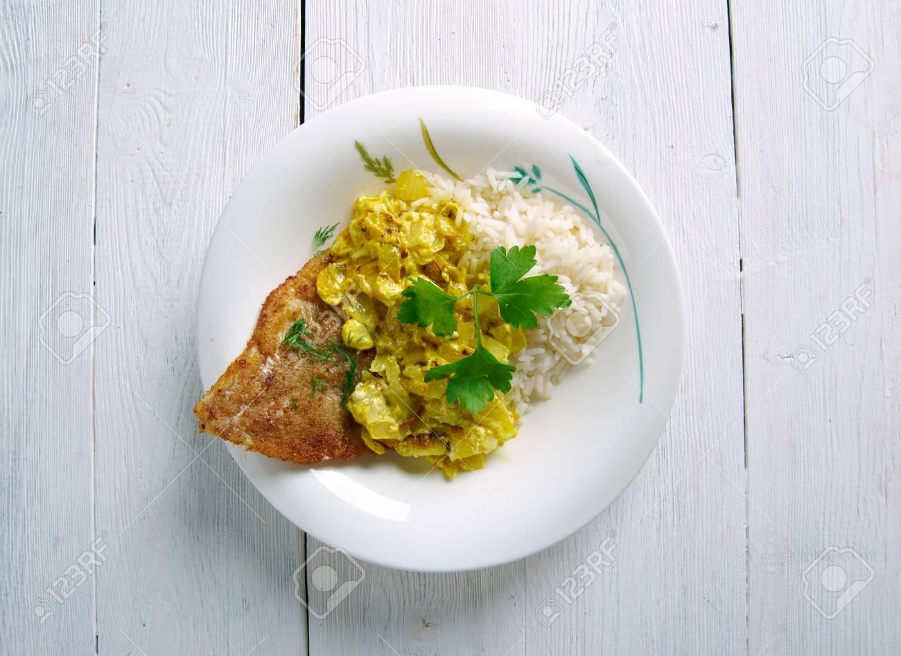 Coconut Fish Curry  Cari de Poisson AFRICA, SEYCHELLES