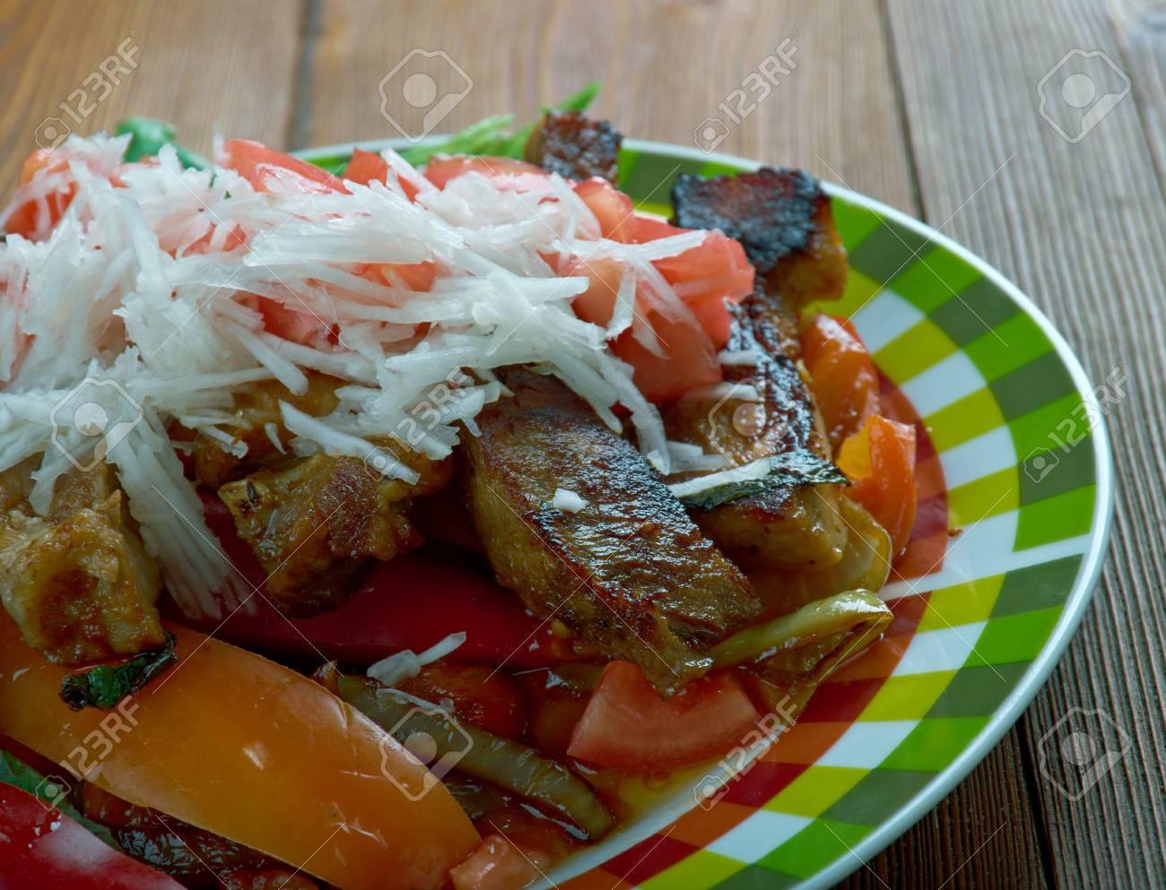 promo code d5e05 f9bcb Puntas ?? Il piatto messicano regionale è fatto di filetto di manzo, con  l'uso di peperoncini serrano verdi