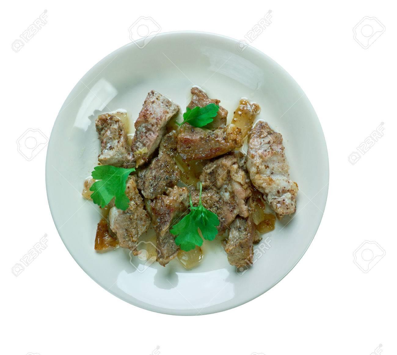 トリニ geera 豚肉が食欲をそそる 豚肉は クミンの種子とコショウだけ