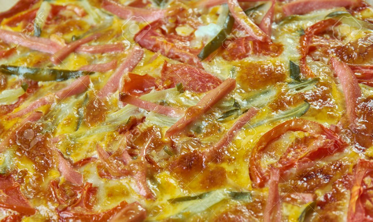 Pizza Romana Roman Style Pizza