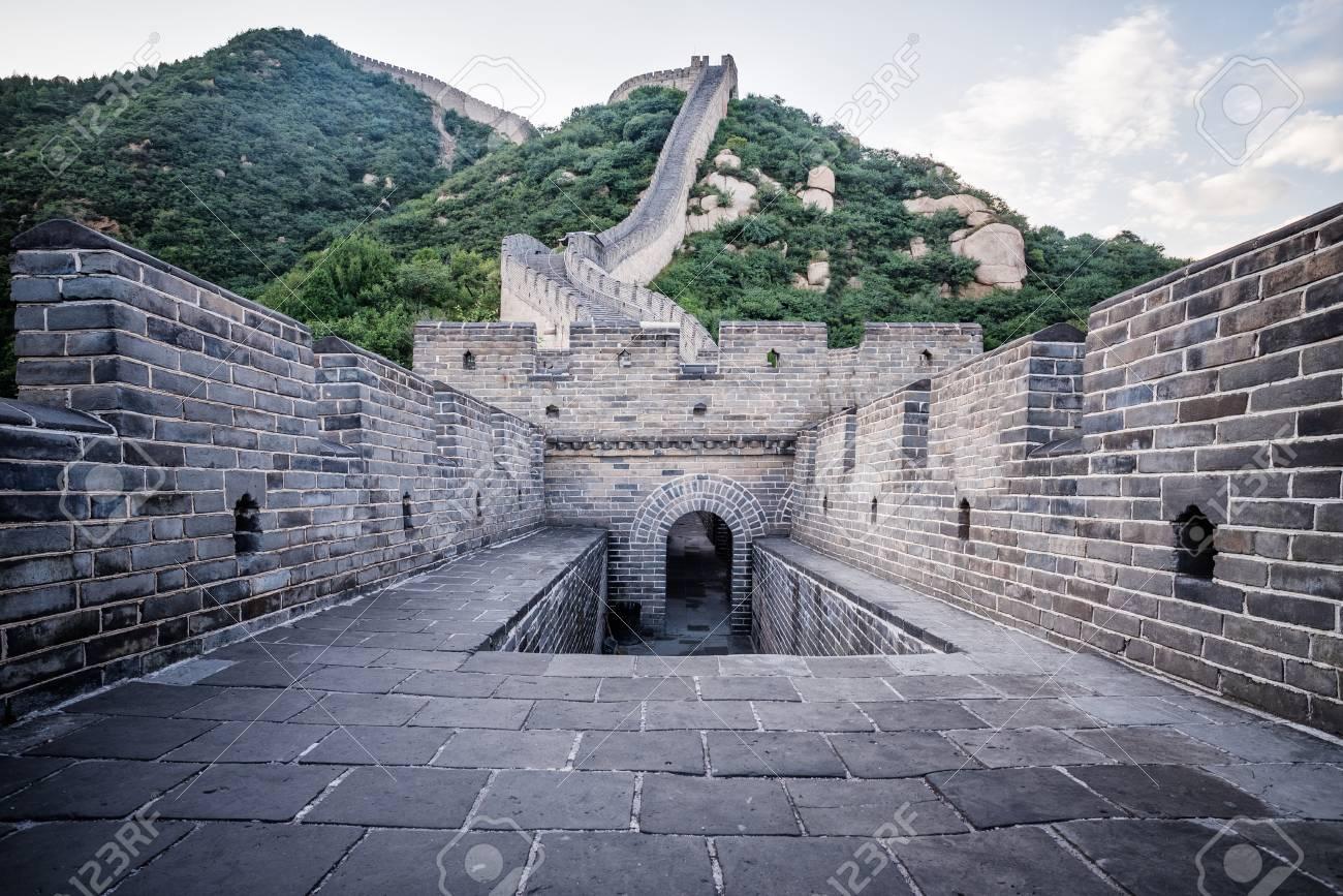 Turbo Die Große Mauer In China Ist Eine Reihe Von Befestigungen Aus CU74