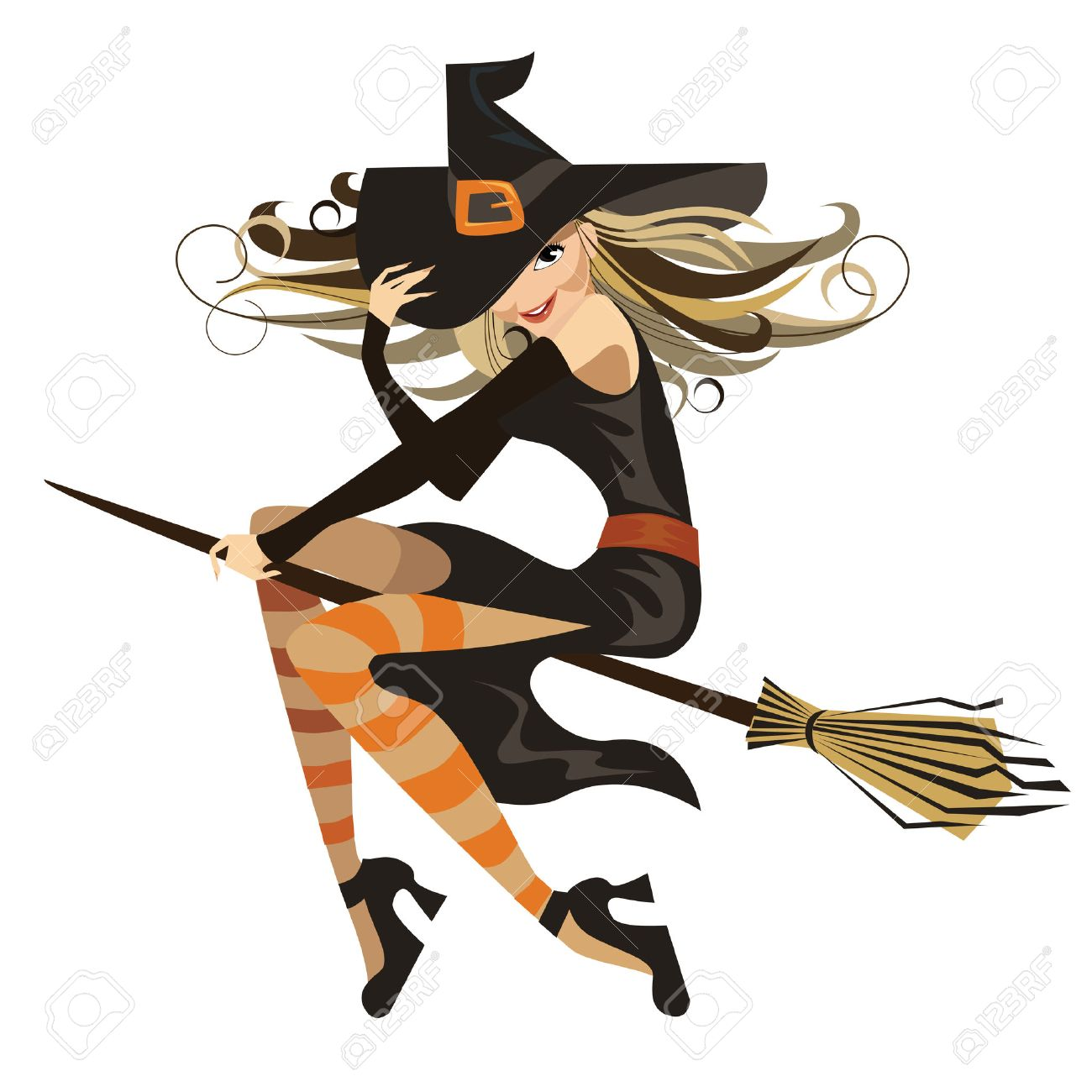 witch Stock Vector - 5450262