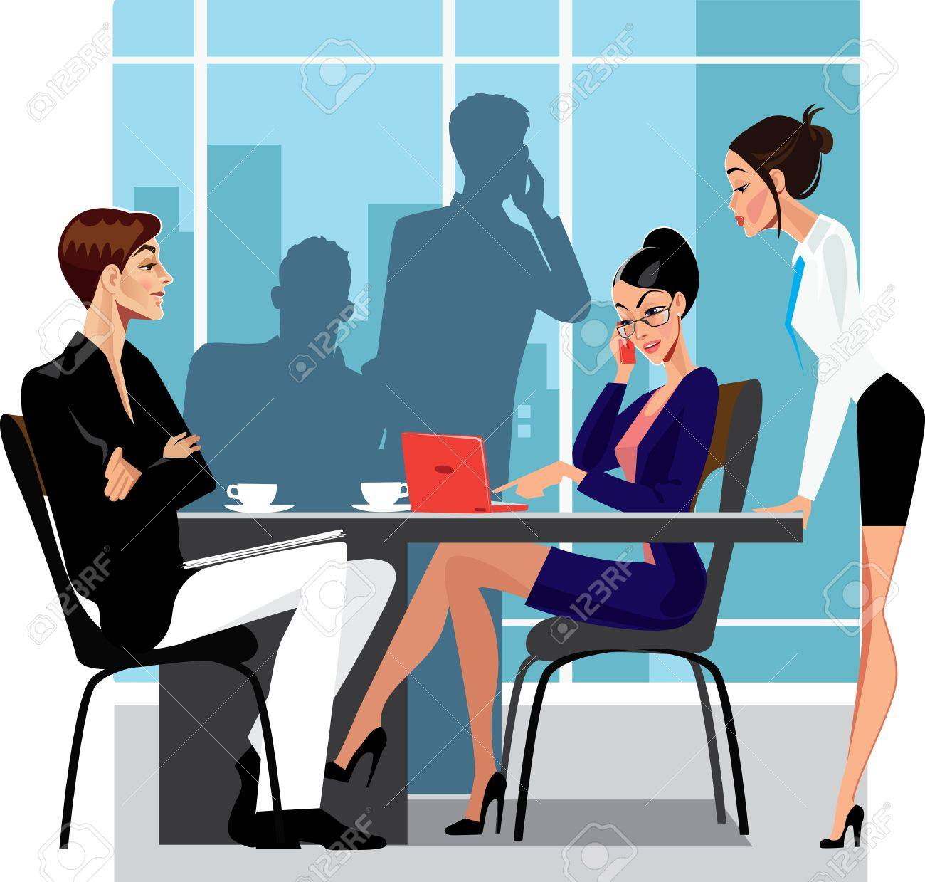 business meeting Stock Vector - 15327303