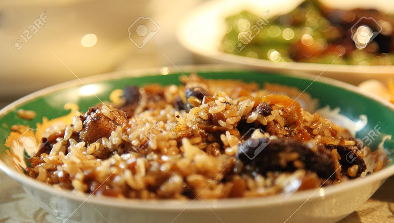 Xinjiang Cuisine Pilaf Stock Photo Picture And Royalty Free Image
