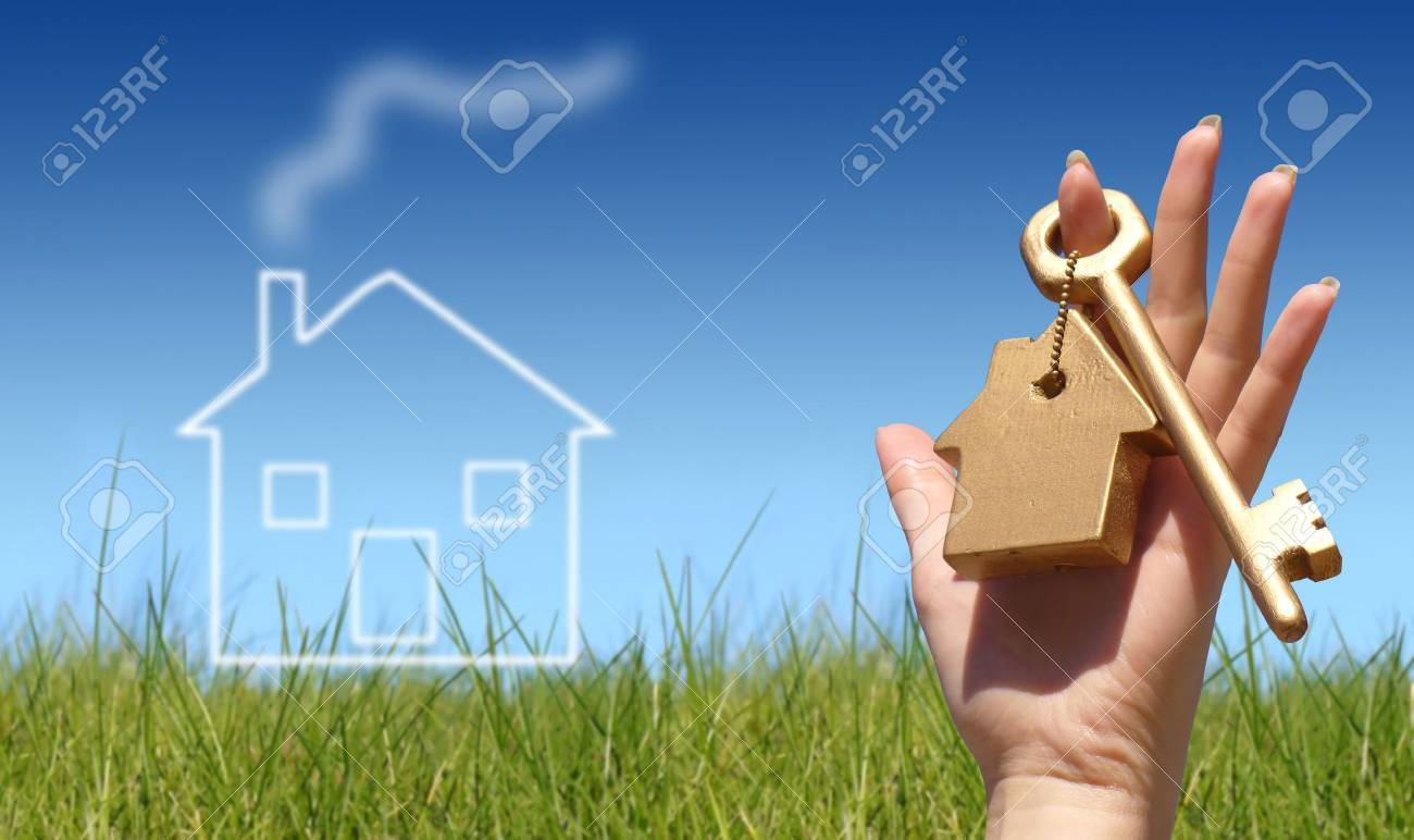 New house owner concept Stock Photo - 2009127