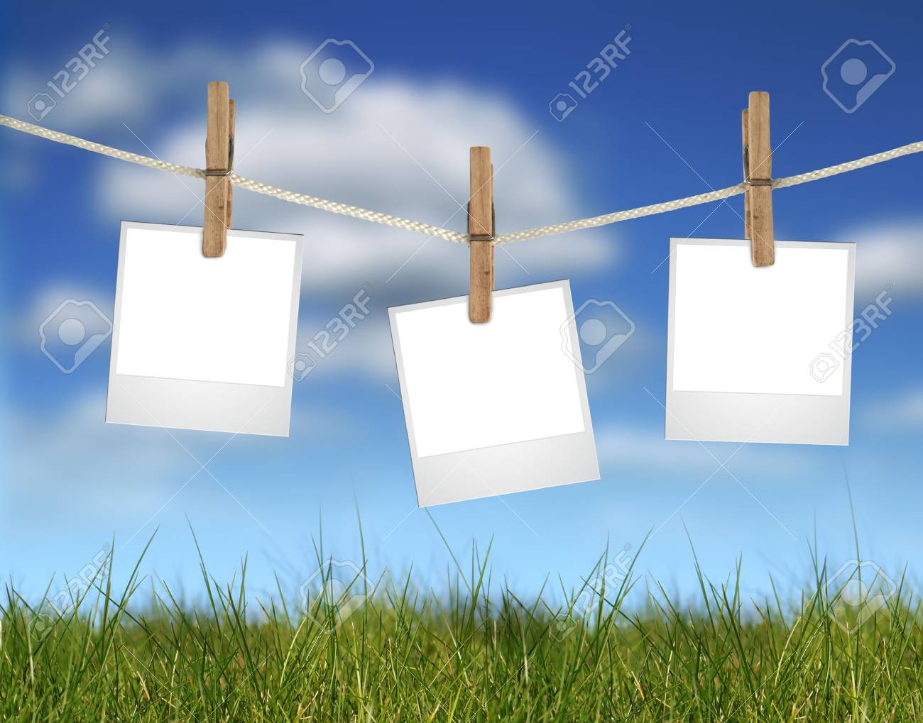 Pictures. Empty space for your text or image. Stock Photo - 4654041