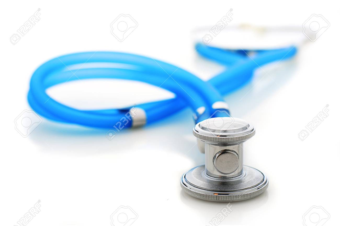 Stethoscope isolated over white background. Stock Photo - 18907881