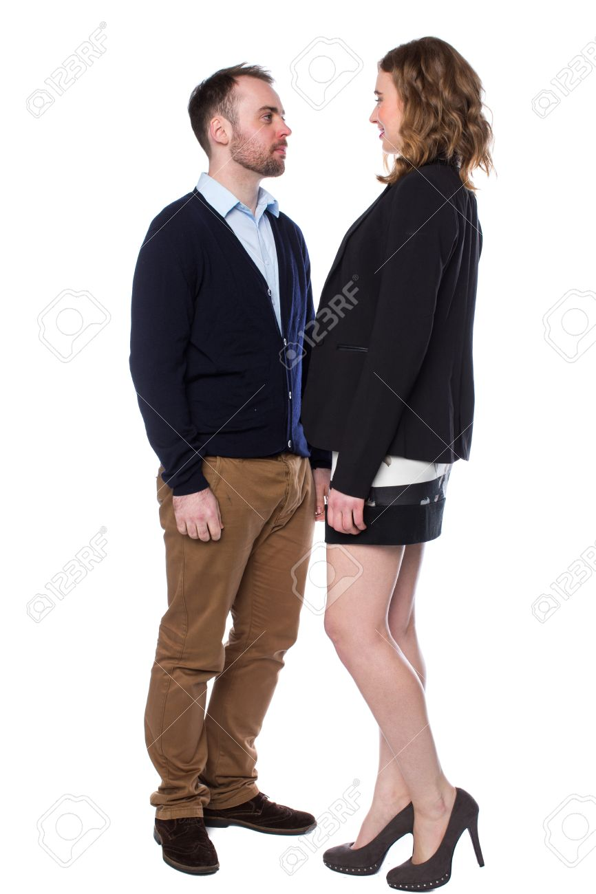 Woman shorter man dating taller Size Matters: