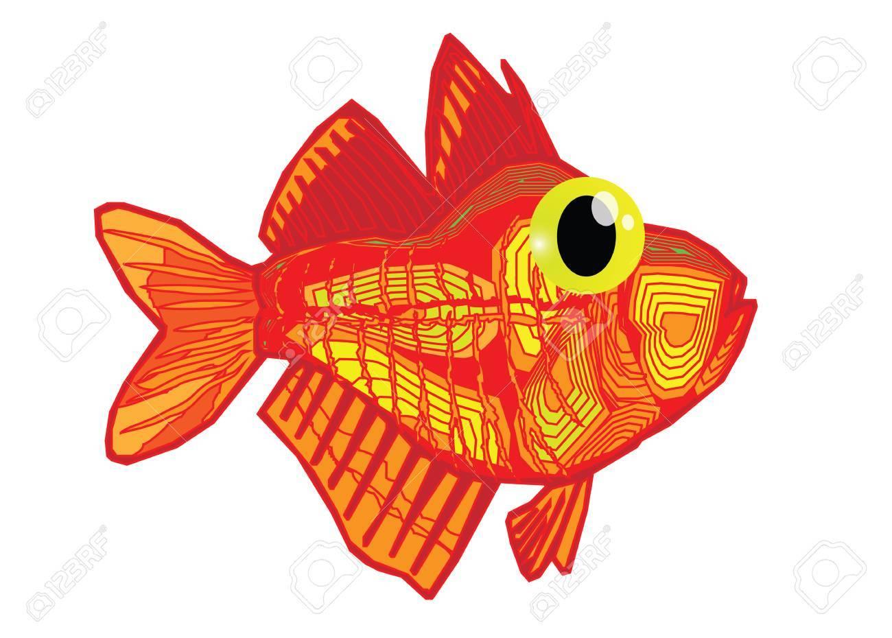 Funny Fish Cartoon Royalty Free Cliparts, Vectors, And Stock ...
